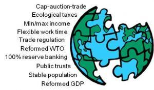 Ten pieces of the policy puzzle for an earth-centric economy