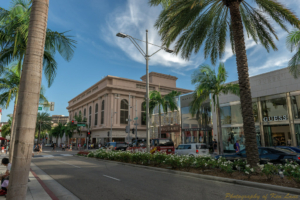 Rodeo Dr. in Beverly Hills, CA
