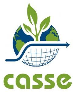 CASSE logo convey that nature needs half