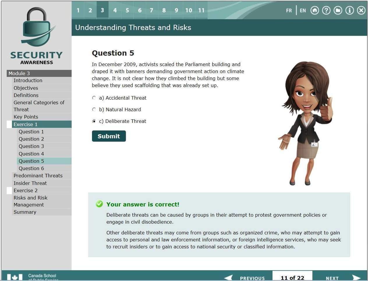CSPS Quiz
