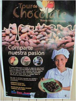 Poster for Chocolate Tours