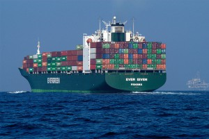 Container ship.NOAA's National Ocean Service