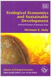 Book cover of Daly's Ecological Economics and Sustainable Development (OPEC)