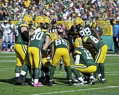 Even a community-owned team huddles around the strategy of growth (photo credit: Elvis Kennedy)