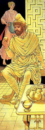 Midas.Giovanni Caselli from the Age of Fable