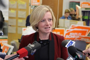 Alberta's newly-elected NDP premier, Rachel Notley. Photo Credit: Dave Cournoyer via Flickr, Creative Commons