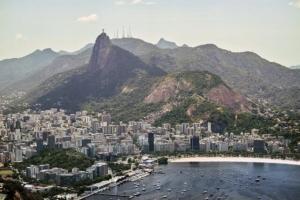 Image overlooking the city of Rio de Janeiro