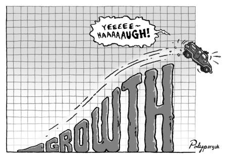 Polyp cartoon about growth.
