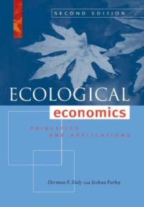 Cover of ecological economics second edition by herman daly and joshua farley.
