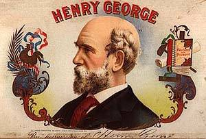 The above seems to be the basic insight of early American economist Henry George (1839-1897) who applied it specifically to rent on the scarcity of ... - henryGeorgeCigarBox