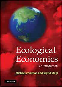Cover of Intro to Ecological Economics by Michael Common and Sigrid Stagl.