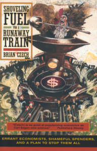 Cover for Shoveling Fuel for a Runaway Train by Brian Czech.