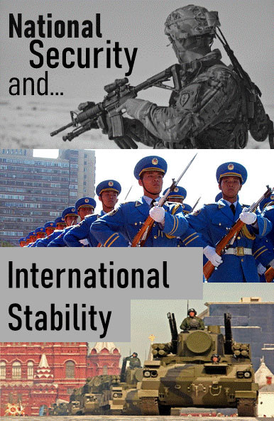 Steady State Economy - National Security and International Stability
